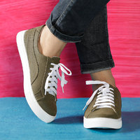Trendy Look Green Sneakers