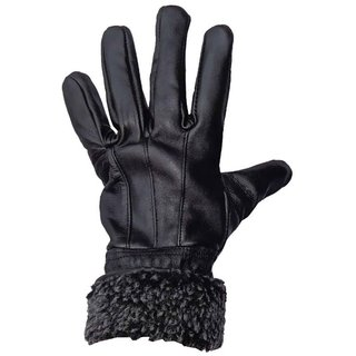 Tahiro Black Leather Gloves - Pack Of 1