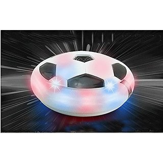 Yosoo Ready Go Air Power Light Up Soccer Disc Multi-surface Hover and Gliding Ball Disk Toy