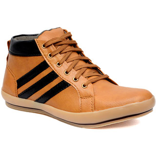 Prolific Men Tan Casual Lace Up Shoe