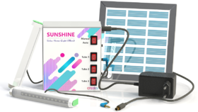 Solar Home light with mobile charging