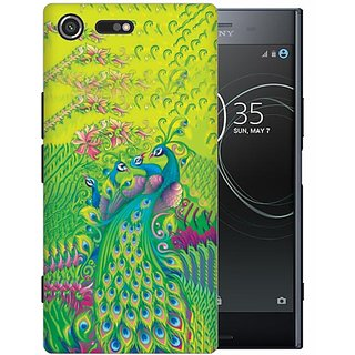 Printland Back Cover For Sony XZ Premium