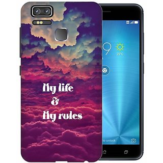 Printland Back Cover For Asus ZenFone Zoom S