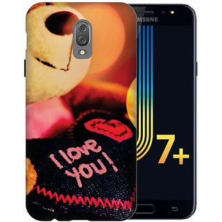 Printland Back Cover For Samsung Galaxy J7 Plus