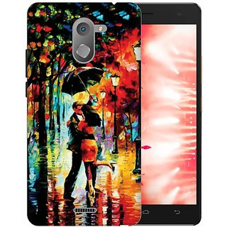 Printland Back Cover For Infinix Hot 4