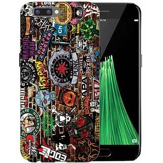 Printland Back Cover For Oppo R10