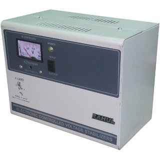 Rahul H-50140 a 5 KVA/20 AMP In Put 140-280 Volt 3 Step Best Suitable For 2 Tonns Air Conditioners Auto Matic Stabilizer