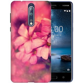 Printland Back Cover For Nokia 8