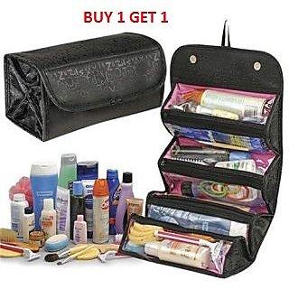 Kudos Roll N Go 4 in 1 Cosmetic Shaving Toiletry Bag Buy 1 Get 1