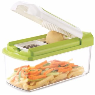 Jony 20-20 Unbreakable 20-Pieces Set Fruit Vegetable Chopper Potato, Onion, Carrots, Beat, Tomato, Cucumber etc