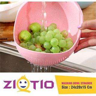 Rice Dal Pulses Grains Pasta Noodles Fruits Vegetables Washer Strainer-Plastic