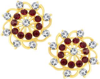 Shostopper Delightful Gold Plated Australian Diamond Earring - SJ6062EN