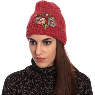 Buy Ladies Winter Woolen Cap Online - Get 23% Off 681e66bda0