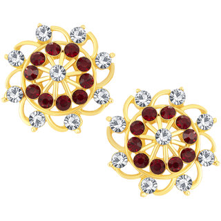 Shostopper Delightful Gold Plated Australian Diamond Earring - SJ6062EN