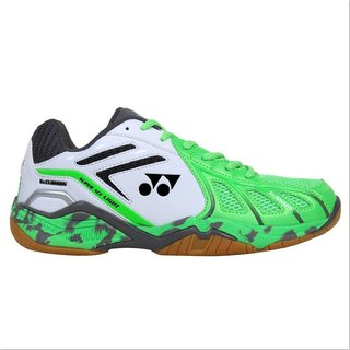 Yonex Super Ace Light Badminton Shoes Green And Grey