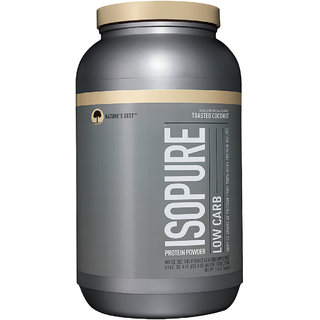 Isopure Low Carb 3 Lbs Toasted coconut