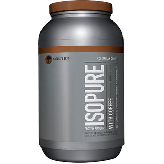 Isopure With Coffee - 3 Lbs (Colombian Coffee)