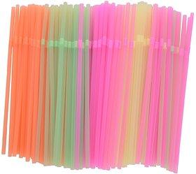 Marketvariations Drinking Juice , Milkshake Straws - 600 Pieces