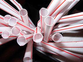 Marketvariations Thick shake / Milk shake Straws (Pack of 100)
