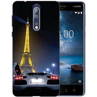 Printland Back Cover For Nokia 8