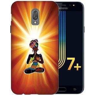 Printland Back Cover For Samsung Galaxy J7 Plus