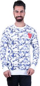 Urban Fashion White Printed T Shirt