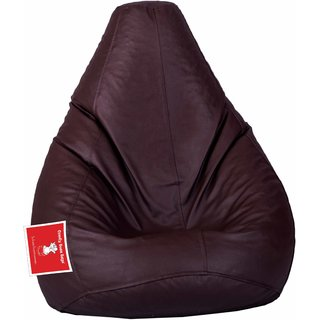 Comfy Bean Bag BROWN L SIZE Without Fillers - Cover Only