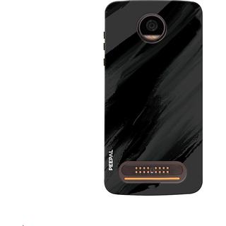 PEEPAL Motorola Moto Z2 Play Designer & Printed Case Cover 3D Printing Art Multi Colour Design