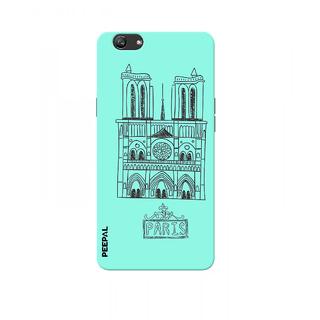 PEEPAL Oppo F3 Plus Designer & Printed Case Cover 3D Printing Paris Design