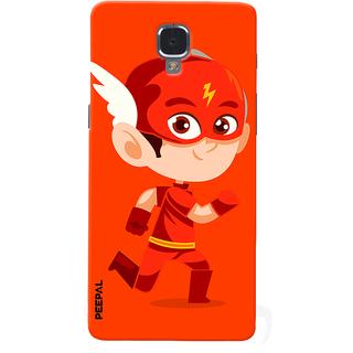 PEEPAL OnePlus 3-3T Designer & Printed Case Cover 3D Printing Junior Flash Design