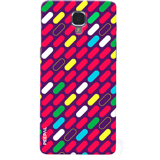 PEEPAL OnePlus 3-3T Designer & Printed Case Cover 3D Printing Art Multi Colour Design