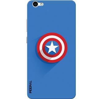 PEEPAL Vivo V5 Designer & Printed Case Cover 3D Printing Shield America Design