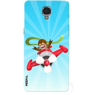 PEEPAL OnePlus 3-3T Designer & Printed Case Cover 3D Printing Flying  Design