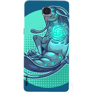 PEEPAL OnePlus 3-3T Designer & Printed Case Cover 3D Printing Art Multi Colour Design