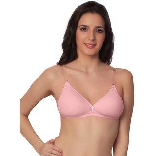595950cd6c19e6 Buy Starzone padded bra Backless (Floret) 32B(Pink) Online - Get 17% Off