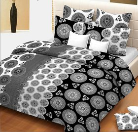 Geometrical Printed bedsheet