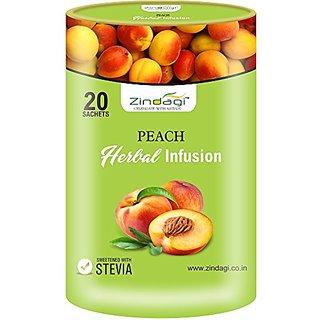 Zindagi Peach Herbal Infusion- Sugarfree Infusion Tea