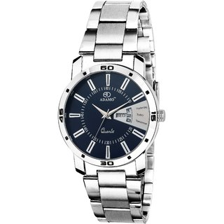 f942be6782d Buy ADAMO Designer Day Date Women s Wrist Watch A813SM05 Online - Get 83%  Off