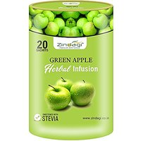 Zindagi Green Apple Herbal Infusion- Infusions Tea Bags
