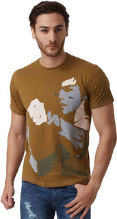 YAK YAK MEN'S TAPENDAE ROUND NECK T-SHIRT