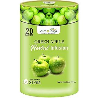 Zindagi Green Apple Herbal Infusion- Infusions Tea Bags