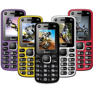 Freecel Free Cross Dual Sim/Camera/FM Multimedia  Mobile Phone