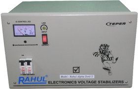 Rahul A-Zone a5 KVA/20 AMP 140-280 Volt 3 Step Main Line Use Up to 5 KVA Load Auto Matic Voltage Stabilizer