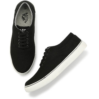 79c0fb65e1a51 Buy Men s Black   White Lace-up Sneakers Online   ₹999 from ShopClues