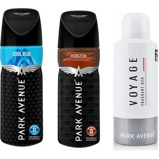 Cool Blue,Horizon and Voyage Body Deodorant 100gm Each