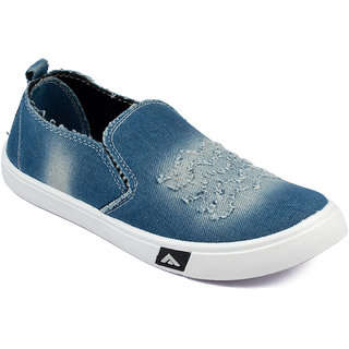 Asian Mens Blue Sneakers
