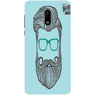 Printgasm Nokia 5 printed back hard cover/case,  Matte finish, premium 3D printed, designer case