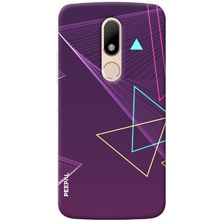 PEEPAL Motorola Moto M Designer & Printed Case Cover 3D Printing Art Multi Colour Design