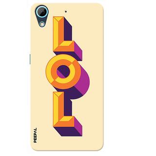 PEEPAL HTC 626 - 626 Plus Designer & Printed Case Cover 3D Printing Lol Design