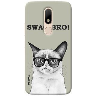 PEEPAL Motorola Moto M Designer & Printed Case Cover 3D Printing Billi Swag Design